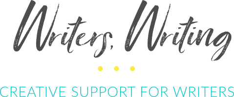writers writing logo
